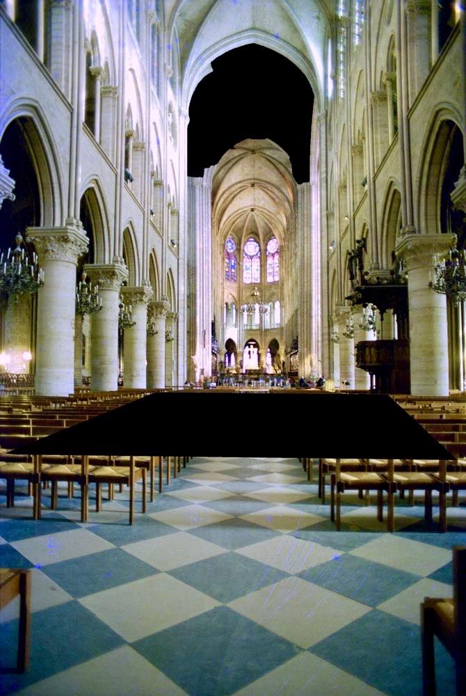 Notre Dame Burnt